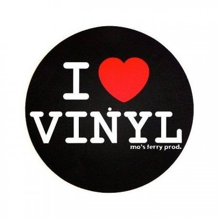 SLIPMAT I LOVE VINYL (пара)