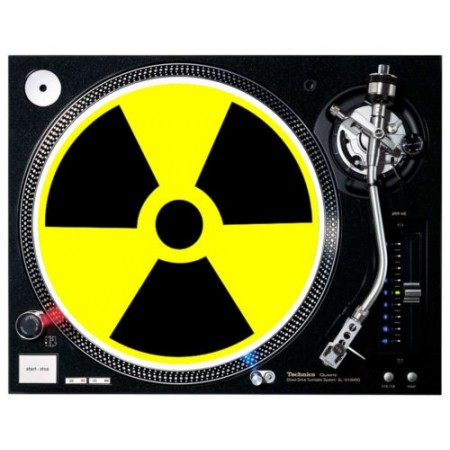 Slipmat Radio Active