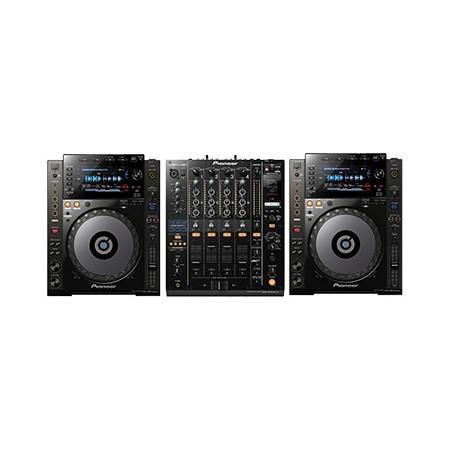 Pioneer CDJ 900 nexus+ DJM 900 nexus