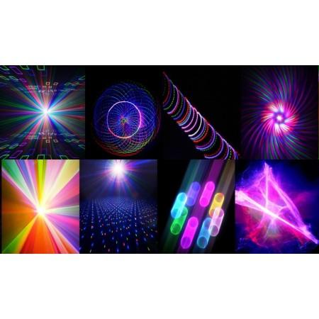 Лазер Equinox 3D RGB DMX Laser 800mw