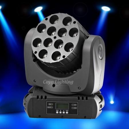 MINI LED Moving Head 7*10W RGBWA  Multi Color With ZOOM