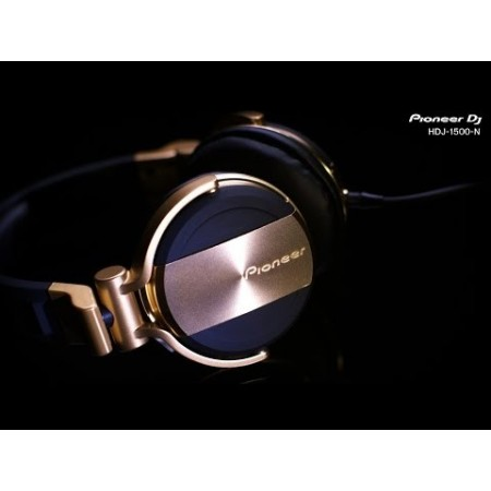 Pioneer HDJ-1500 Gold (limited edition).